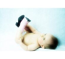 The Youngest Cowgirl Photographic Print