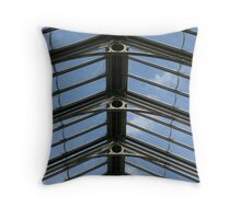 Victorian Glasshouse Ceiling Throw Pillow