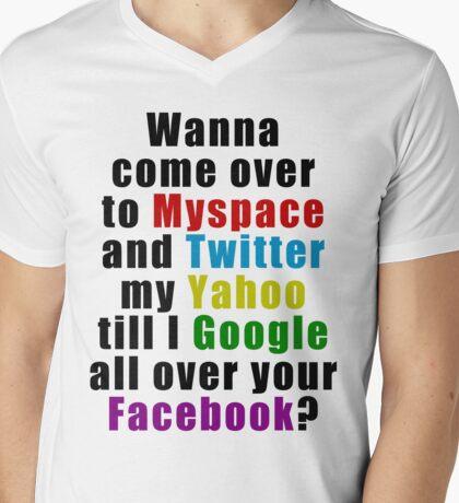 Popular Saying Mens V-Neck T-Shirt