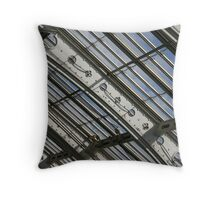 Victorian Glasshouse Ceiling Detail Throw Pillow
