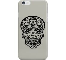Mexican Sugar Skull, Day of the Dead, Dias de los muertos iPhone Case/Skin