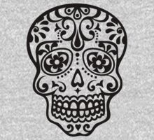 Mexican Sugar Skull, Day of the Dead, Dias de los muertos Kids Clothes