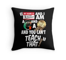 """"""" My name is Enzo Amore Throw Pillow"""