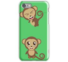 Funny Monkeys iPhone Case/Skin