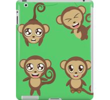 Funny Monkeys iPad Case/Skin