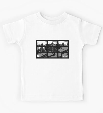 Crossing The Bridge into The Abstract Kids Tee