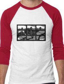 Crossing The Bridge into The Abstract Men's Baseball ¾ T-Shirt