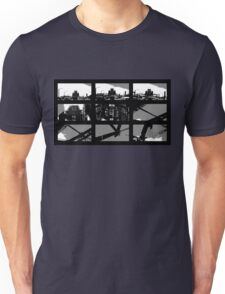 Crossing The Bridge into The Abstract Unisex T-Shirt