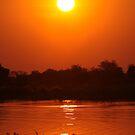 Okavenga Sunset by Steve Bullock