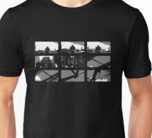 Crossing The Bridge into The Abstract - Black Unisex T-Shirt