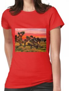 Joshua Trees  Womens Fitted T-Shirt