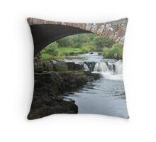 Water Under The Brig Throw Pillow