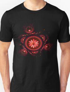 the flower inside T-Shirt