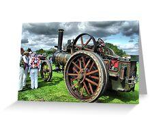 Steam Traction Engine 'Fair Rosamund' Greeting Card