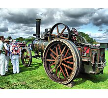 Steam Traction Engine 'Fair Rosamund' Photographic Print