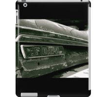 Classic Ford Emblem iPad Case/Skin