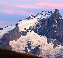 La Meije Viewed From Oisans by Sylvain Girard