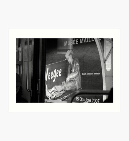 Tribute to Weegee Art Print
