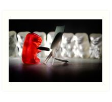 Gummy Bear Photography - Sharing A Workflow Art Print