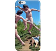 An Interesting Point Of View iPhone Case/Skin