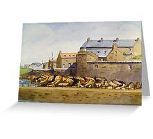 Port Soy Aberdeen Greeting Card