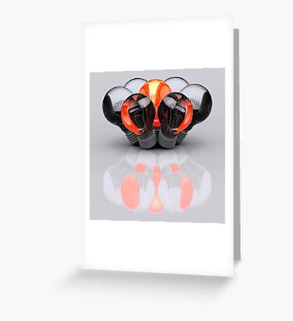 Group of Bulbs Greeting Card