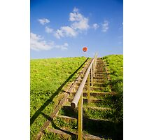 Steps to Life Belt  Photographic Print