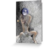 gaia the root of it all Greeting Card