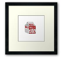 Malk Framed Print