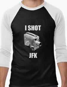 I shot jfk Men's Baseball ¾ T-Shirt