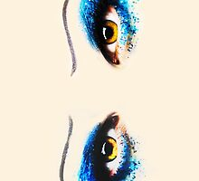 Darren is Hedwig - Eyes by Spread-Love