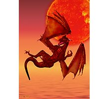 Fire Dragon Photographic Print