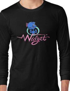 Widget - NES Title Screen Long Sleeve T-Shirt