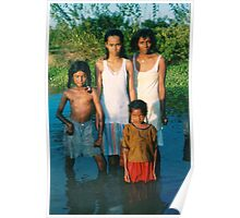 Guyana East Indian country family Poster