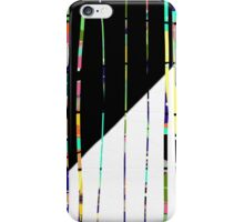 PENCIL SKIRT, Textile art, abstract lines, gifts, decor iPhone Case/Skin