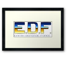 Earth Defense Force Framed Print