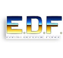 Earth Defense Force Canvas Print