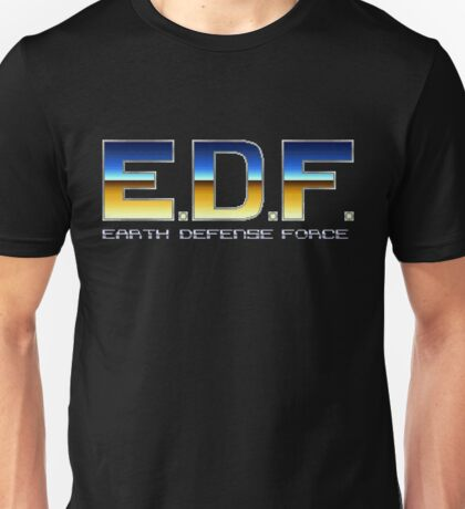 Earth Defense Force - SNES Title Screen Unisex T-Shirt