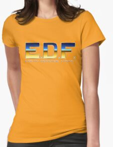 Earth Defense Force Womens Fitted T-Shirt