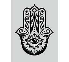 Hamsa - Hand of Fatima, protection symbol Photographic Print