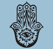 Hamsa - Hand of Fatima, protection symbol Kids Clothes