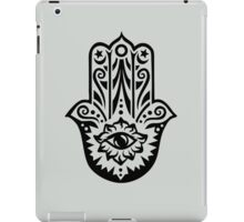 Hamsa - Hand of Fatima, protection symbol iPad Case/Skin