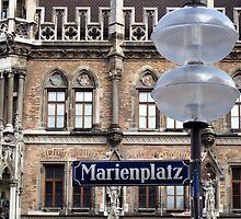 Marienplatz - Munich, Germany by Kris McLennan