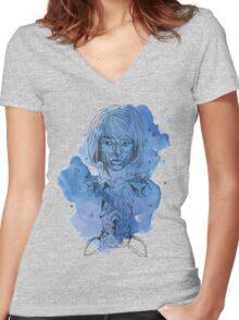 Life Is Strange - Geometric Max Women's Fitted V-Neck T-Shirt