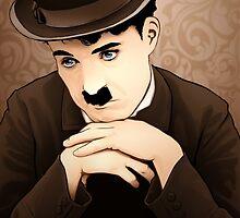 Charlie Chaplin by kimballgray