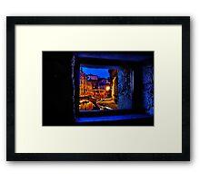 Mystical Window Venice Fine Art Print Framed Print