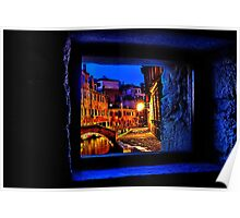 Mystical Window Venice Fine Art Print Poster