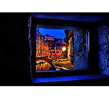 Mystical Window Venice Fine Art Print Photographic Print
