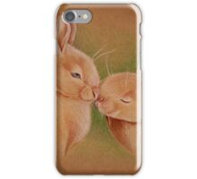 Love of Rabbits. Sweetest love iPhone Case/Skin