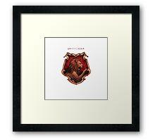Gryffindor Crest Harry Potter Framed Print